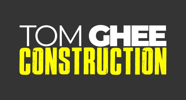 Vektar Design | Tom Ghee Construction Logo created by Vektar Design