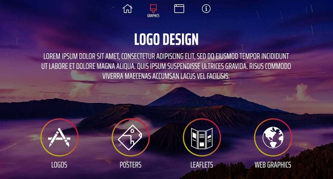 Vektar Design | One Page Website Website created by Vektar Design